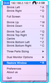 Restore Window